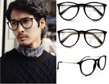 Free Shipping ! Famous Brand Women Reading Glasses Retro plain Glasses with Various Pattern for men