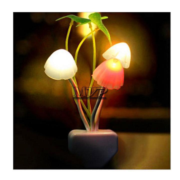 5pcs/lot colorful fantastic Avatar Mushroom wall LED Night Light Valentine's gift Fungus Lamp,LED Table Lamp,Mushroom Lamp 10(China (Mainland))