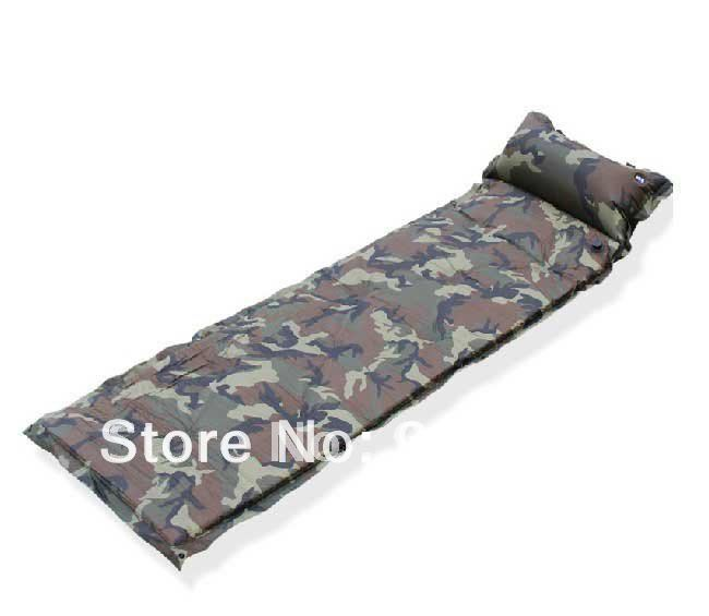 Outdoor Air Mattress Camping Inflatable Air Bed New self
