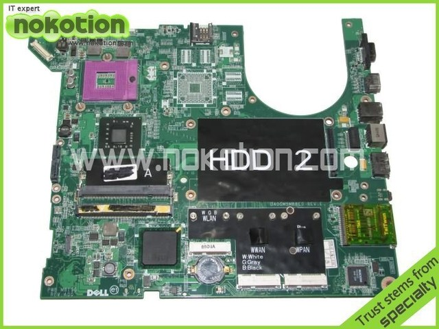 M824G 0M824G laptop motherboard for dell studio 1735 1737 Notebook PC System board / main board Intel DDR2 100% tested