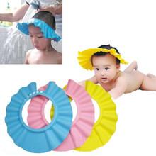 1pcs Adjustable Kid Shield Hat Wash Hair children Shower cap protect Shampoo for baby Bathing bath waterproof caps hat child   (China (Mainland))