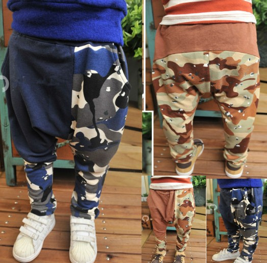SKZ-280,5 pcs/lot Free shipping hot selling boy fashion camouflage pants kid wear children cotton trousers wholesale<br><br>Aliexpress