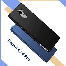 Buy Xiaomi Redmi4 case matte protective back cover Xiaomi Redmi 4 full body cover ultra thin case Xiaomi Redmi 4 Pro Prime Case for $3.44 in AliExpress store