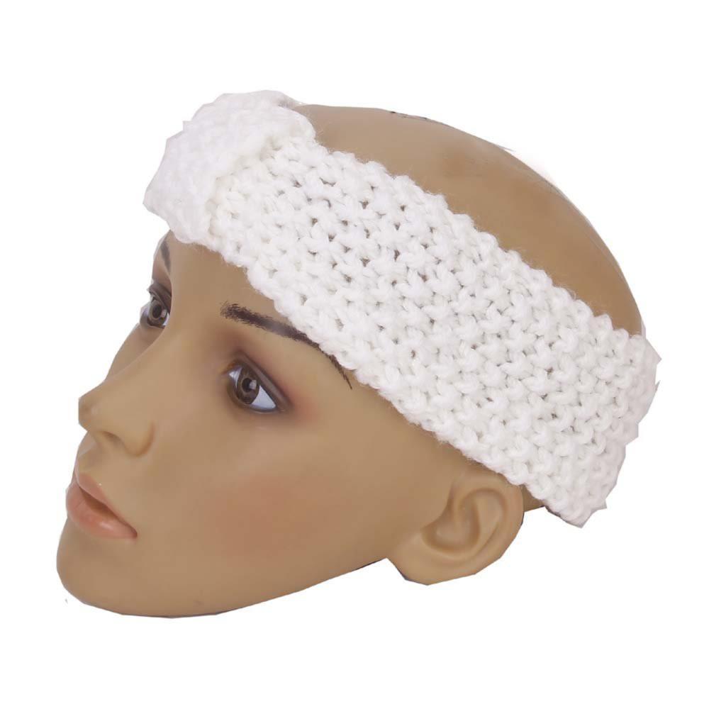IMC Crochet Bow Headband Hair Band Knitted Winter Hat(China (Mainland))