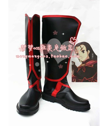 Фотография anime Shakugan no Shana Burning Eyes cosplay  Worship of the snake costume boots shoes