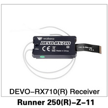 2016 Original Walkera Runner 250 Advance Drone Accessories Parts DEVO-RX710(R) Receiver Runner 250(R)-Z-11