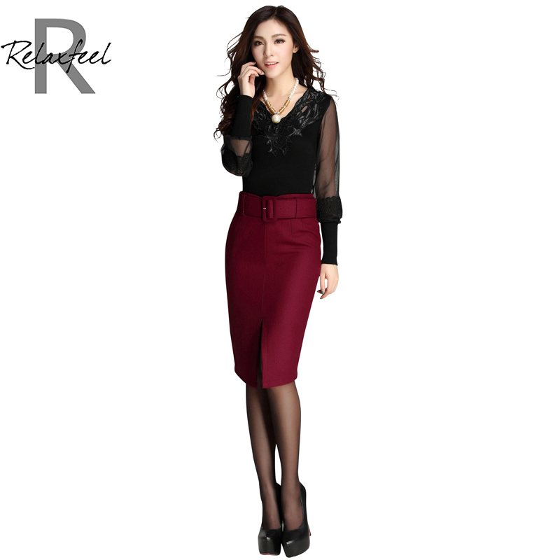 relaxfeel s furcal bodycon skirt in skirts from