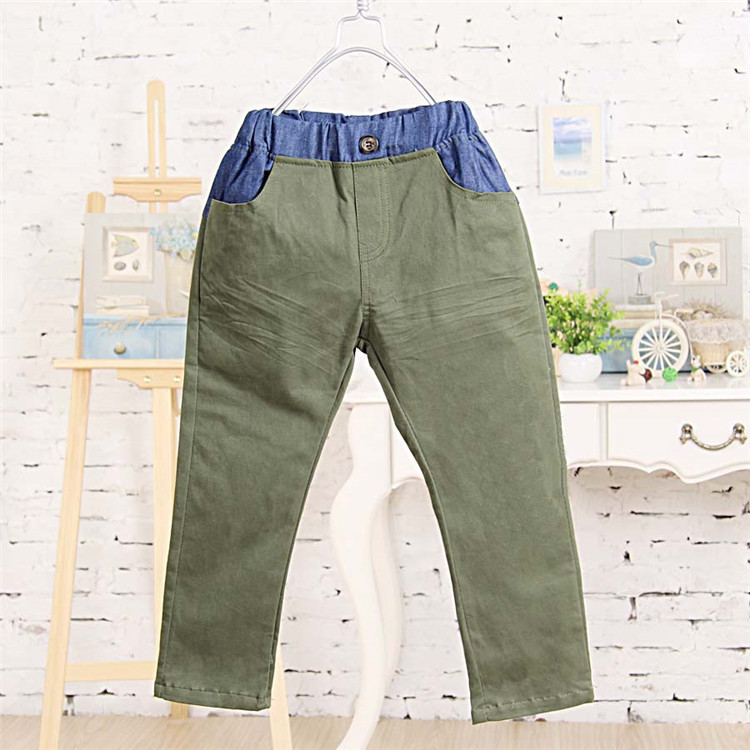 2015 spring and autumn hot sale baby boys casual long trousers little boys fashion pants A2076(China (Mainland))