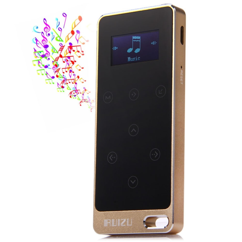 """RUIZU X05 1.1"""" Touch Screen 8G Digital MP3 Music Player Support Pedometer FM Recorder Mini Portable Touch Screen MP3 Player(China (Mainland))"""