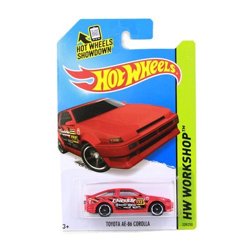 Hot Wheels TOYOTA AE-86 COROLLA Alloy Collectible Car Model Of Children's Educational Toys 1:64 C4982(China (Mainland))