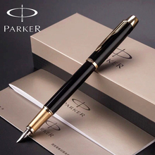 11 Colors Full Metal Parker IM Fountain Pen Silver / Gold Clip Parker IM fountain Pen Luxury Business Writing Office Supplies(China (Mainland))