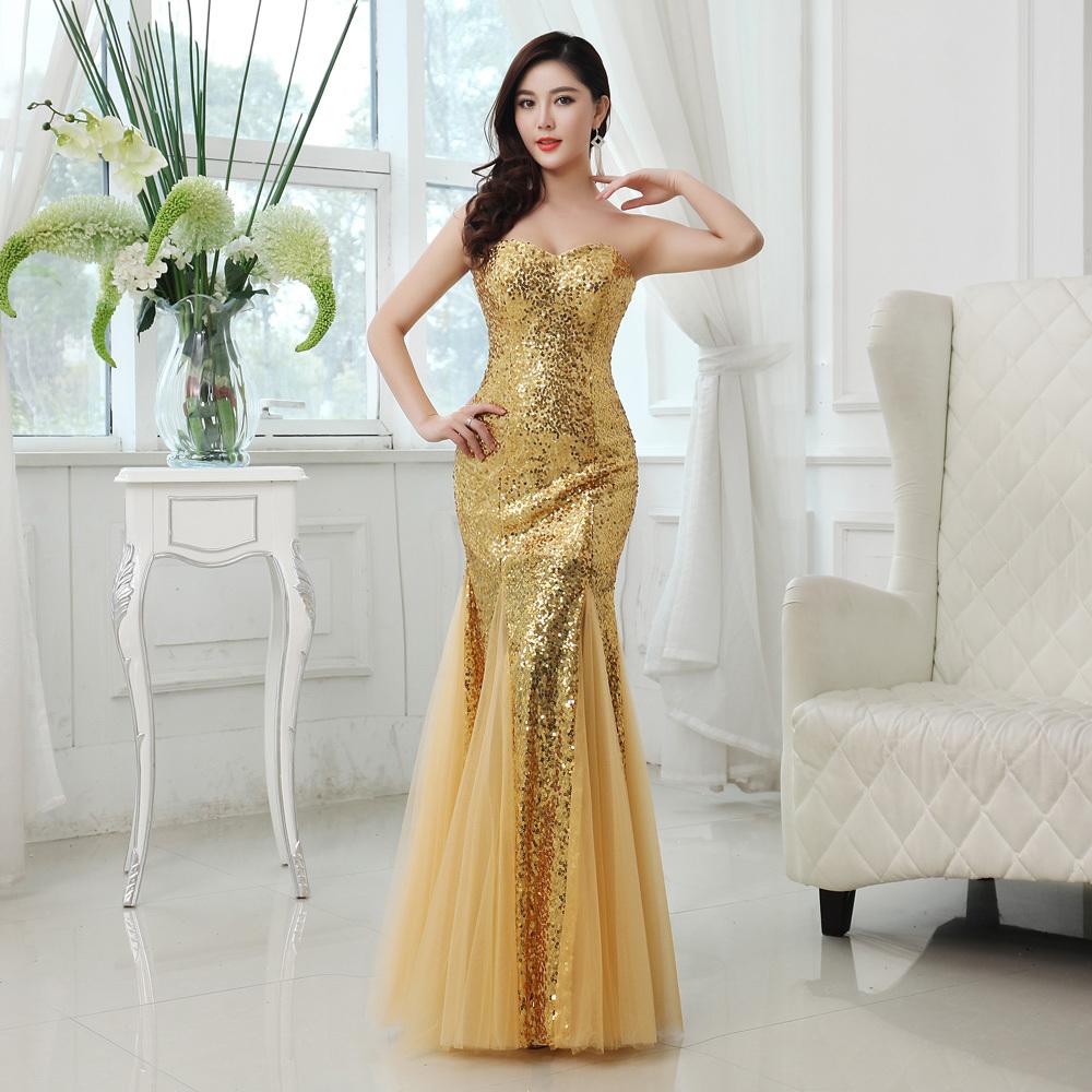 Sexy Yellow Prom Dresses 2014