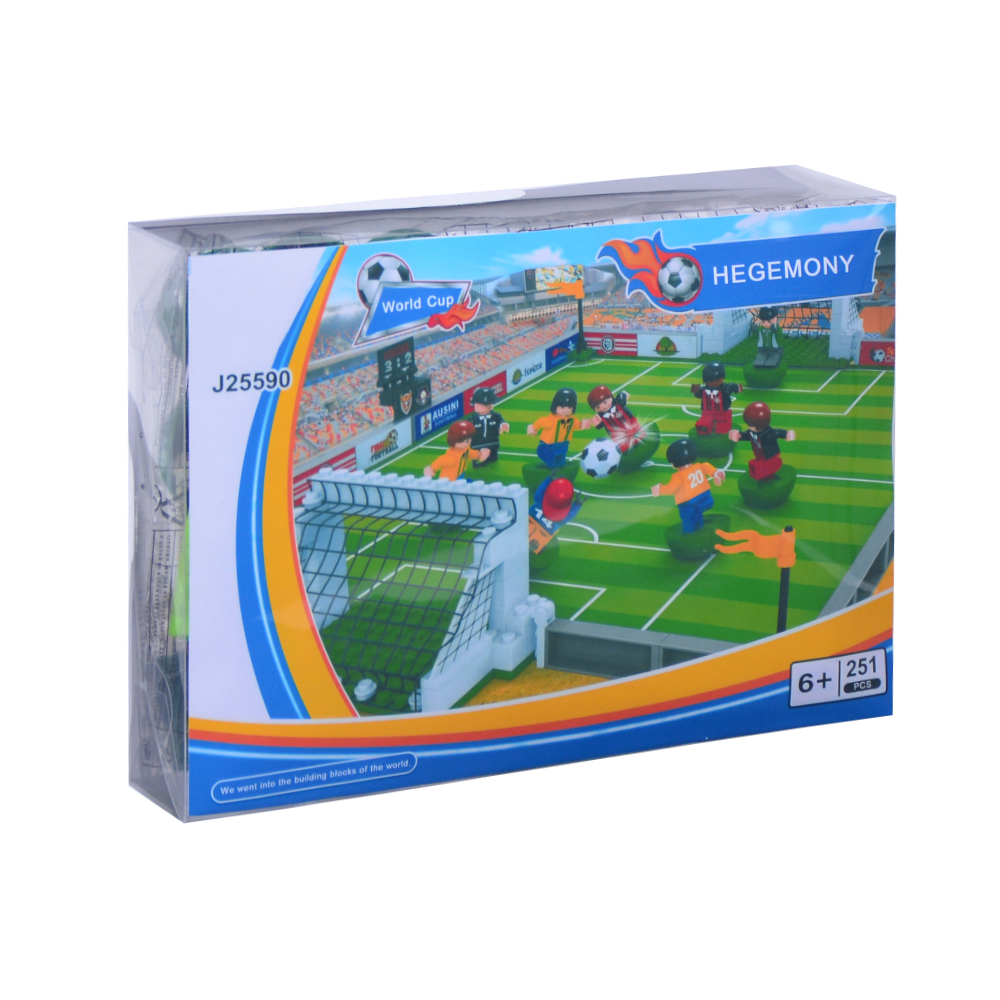 World Cup Ausini building block compatible with lego football series 199 3D Construction Brick Educational Hobbies Toys for Kids