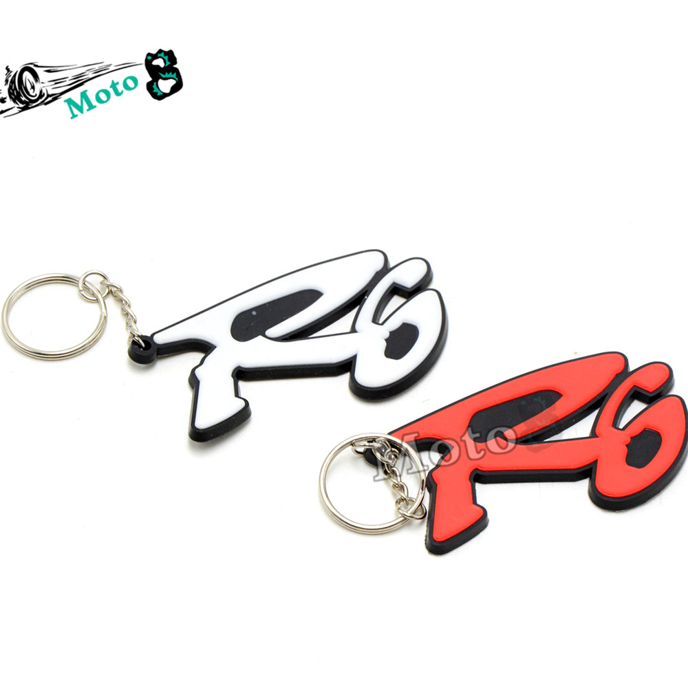 2 colors optional New hot sale gift Keychain Key Chain Motorcycle accessories motocross motorbike parts Key ring for honda r6(China (Mainland))