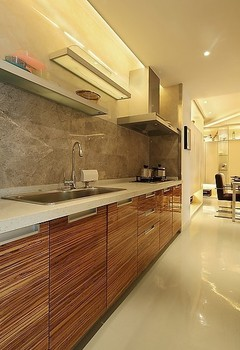 customized wood kitchen cabinet for your house