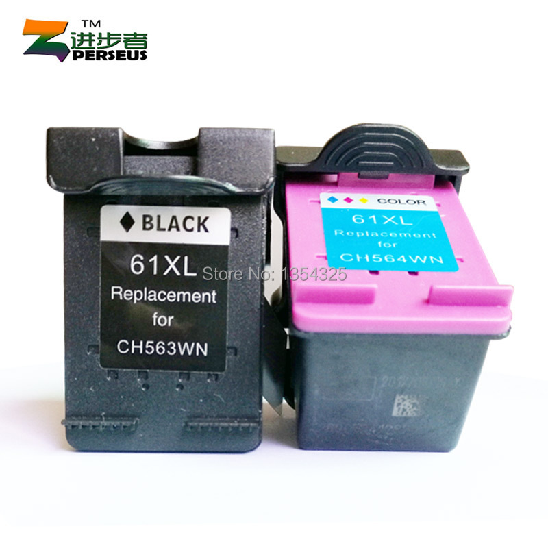PERSEUS INK CARTRIDGE HP 61 61XL FULL COLOR HP DeskJet 1000 1050 2050 3000 3054 3510 3516 3512 Officejet 2620 PRINTER GRADE A+(China (Mainland))
