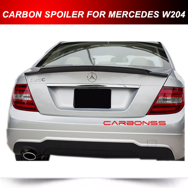 W204 spoiler reviews online shopping w204 spoiler for Mercedes benz c380