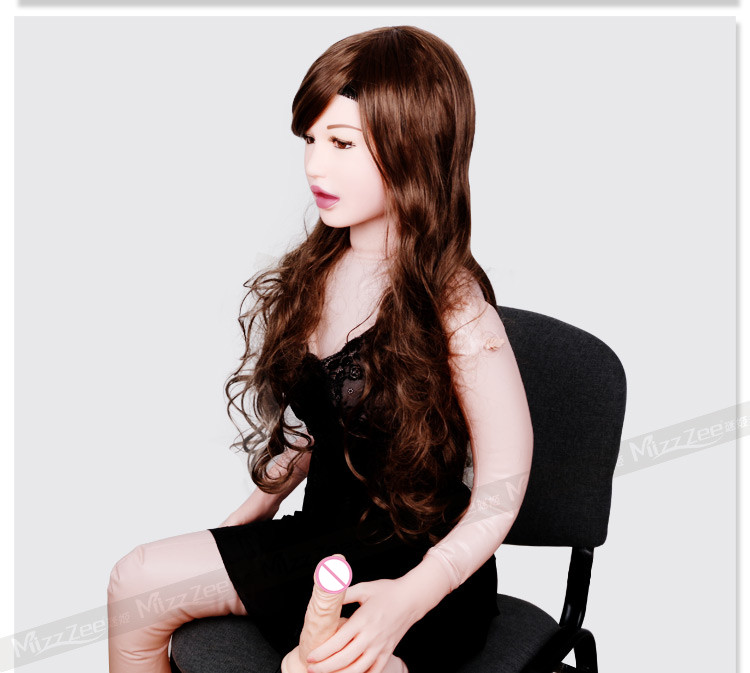 Mizzee 155cm solid inflatable sex doll,realistic blow up doll with realistic vagina pussy,oral and anal masturbator love doll.(China (Mainland))