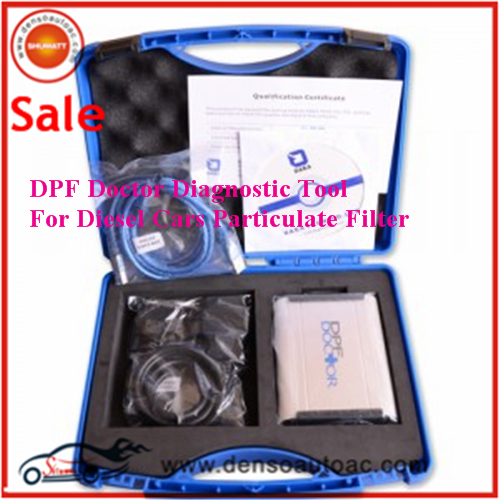 Professional DPF Doctor Diagnostic Tool For Diesel Cars Particulate Filter Interface DPF Reset Tool DPF for volvo Ford etc(China (Mainland))