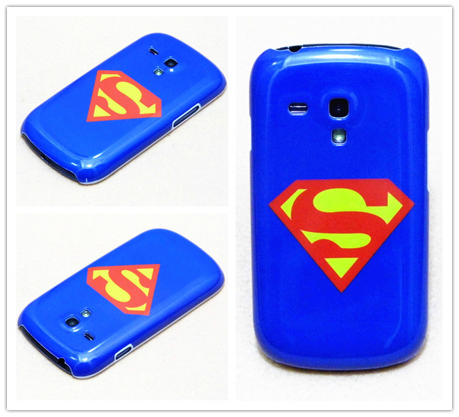 Cooling Case For Samsung Galaxy S3 : New cool classic blue superman etc stylish pattern hard