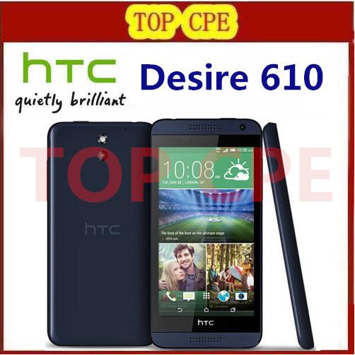 "Original HTC Desire 610 Qual Core Mobile phone 4.7"" TouchScreen 1GB RAM 8GB ROM GPS Wifi Unlocked 3G 4G Android Cellphone(China (Mainland))"