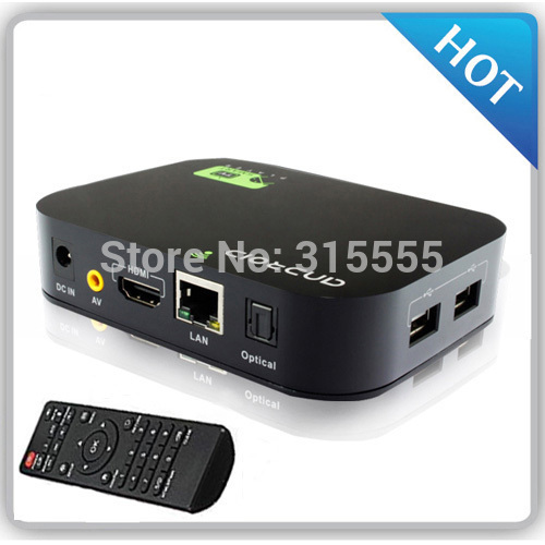Quad Core GPU Set Top Box / Allwinner Dual Core Android 4.2 Smart TV Box Media Player 1080P WIFI HDMI(China (Mainland))