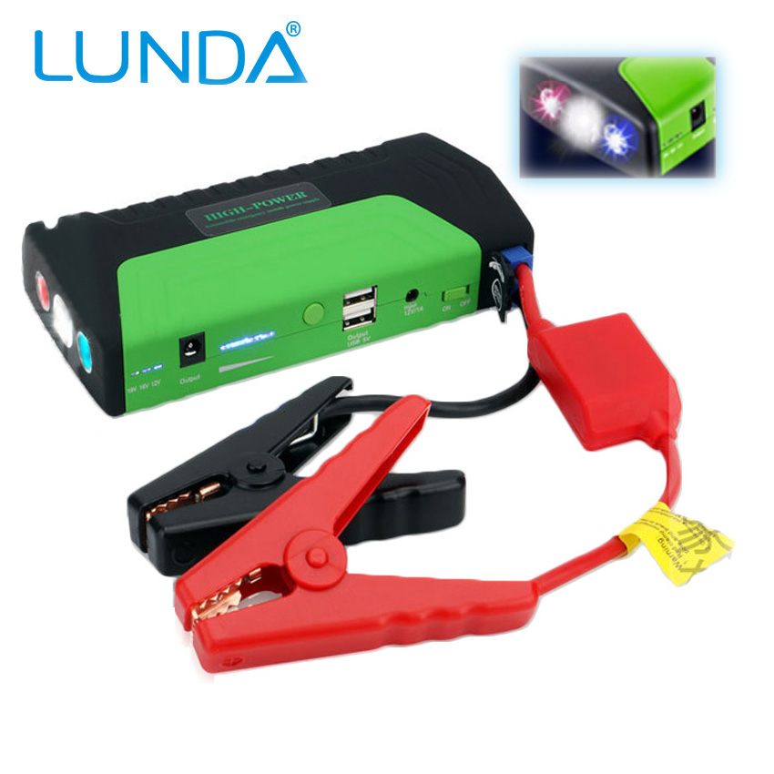 LUNDA Super Car Jump Starter Vehicle Start Booster AUTO Engine Battery Charger for Electronics Mobile Devices-Digital products(China (Mainland))