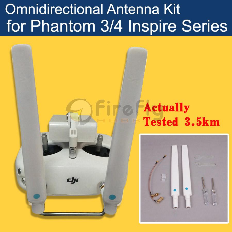 Phantom 4 3 Inspire 1 Refitting Antenna Kit Modified Omnidirectional Antenna Signal Booster Extended Range