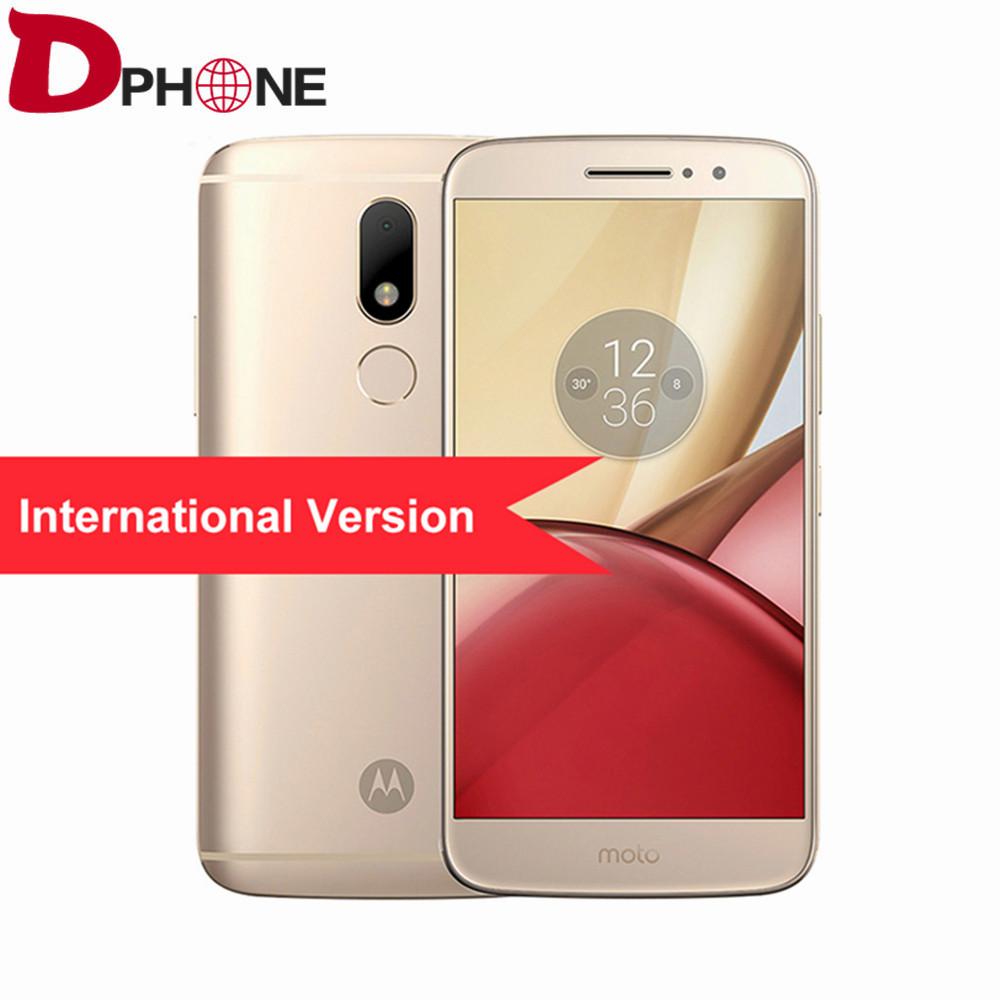 """Original Motorola MOTO M XT1662 5.5"""" IPS FHD Helio P15 Android 6.0 4G LTE smartphone 4GB RAM 32GB ROM 16MP GLONASS fingerprint(China (Mainland))"""