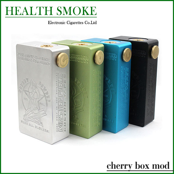 2015 Newest Cherry box mod 510 Thread E Cig Cherry Bomber mod fit 18650 battery Adjustable Electronic Cigarette Mechanical mod<br><br>Aliexpress