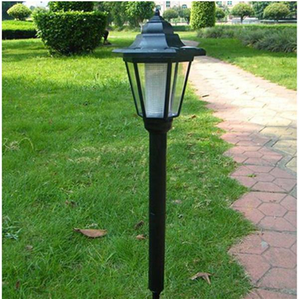 High Quality 2015 Outdoor LED Solar Lawn Lamp Hexagon Lamp Outdoor Light Landscape Garden Lamp Solar Powered Hex light(China (Mainland))