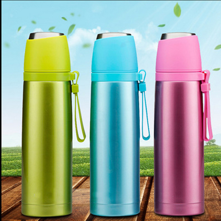 Stainless Steel Thermos Termos Bardak Garrafa Termica Thermos Travel Cute Travel Mugs Vacuum Water Flask Bottle Insulated Cups(China (Mainland))