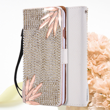 Buy I6 6S Plus Luxury Wallet Flip Cover Chic Bling Diamond Rhinestone Leather Case Card Holder iPhone 6 6S iPhone6 Plus for $7.86 in AliExpress store