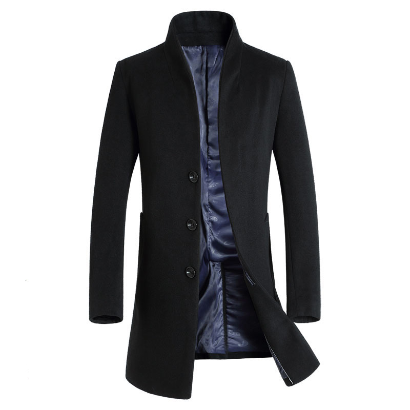 Buy low price, high quality mens long wool coat with worldwide shipping on programadereconstrucaocapilar.ml