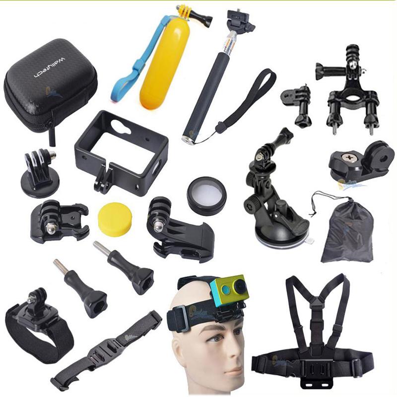 Professional DIY Accessories For Xiaomi Yi Camera Monopod Belts for xiaomi yi Case &amp; Mount SETS FOR Xiaomi yi Accessories<br><br>Aliexpress