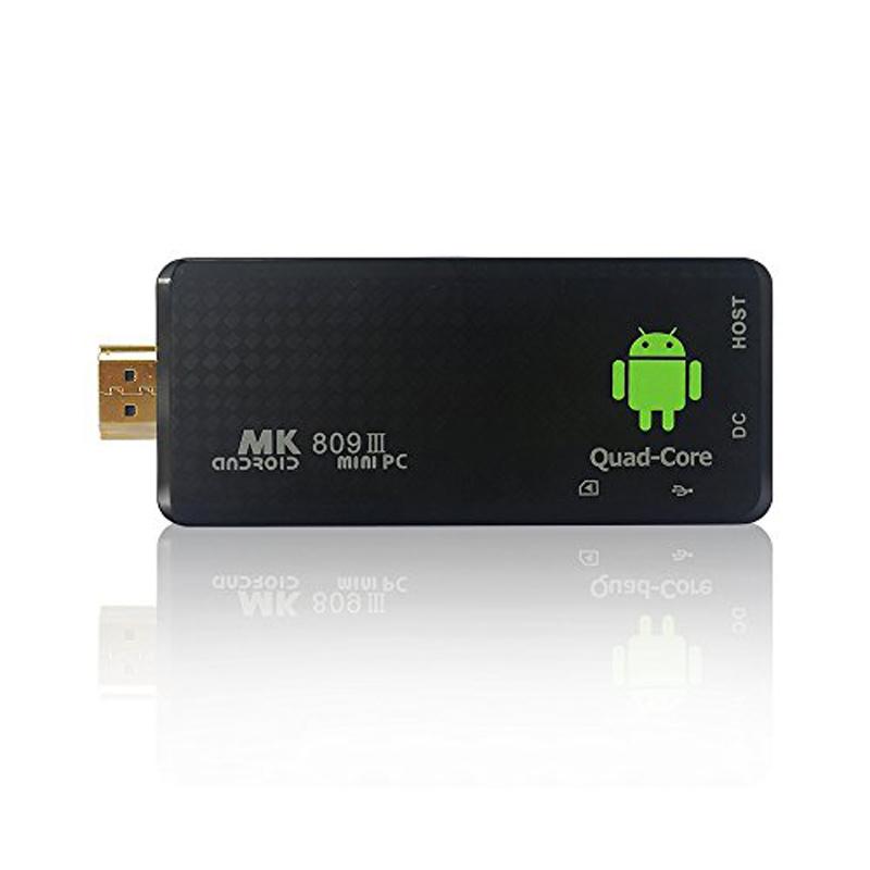 Hot Selling RK3188 Quad Core MK809III Smart TV Box Android orange android mini pc(China (Mainland))