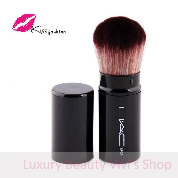 MC Brand Pro Large Retractable make up Powder Blush Brushes Foundation Kabuki Brush makeup brushes pincel(China (Mainland))
