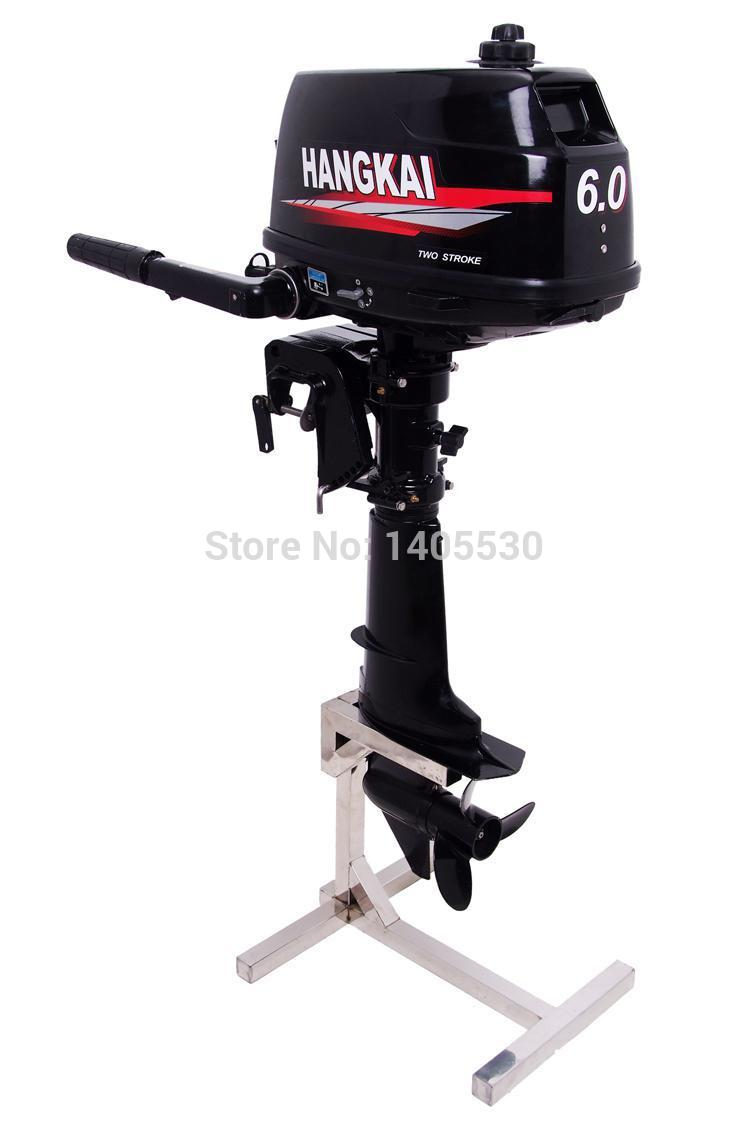 Hangkai 6hp 2 stroke fishing boat outboard engines Two stroke outboard motors
