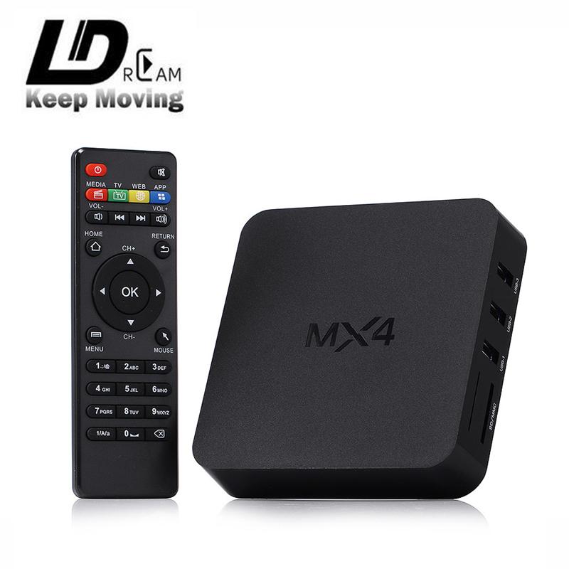 2016 Brand new MX4 android 4.4 tv box Quad Core rk3229 1GB/8GB Mali kodi XBMC Smart tv box support 4K 3D Media Player pk cs918(China (Mainland))