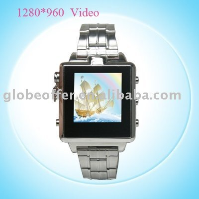 1280*960 30 FPS 8G Camera Watch/ Video Watch/Camcorder watch(China (Mainland))