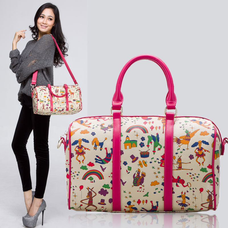 Free shipping  casual duffle women handbag travel cross-body carry luggage bag shoulder carry on luggage totes items TB98<br><br>Aliexpress