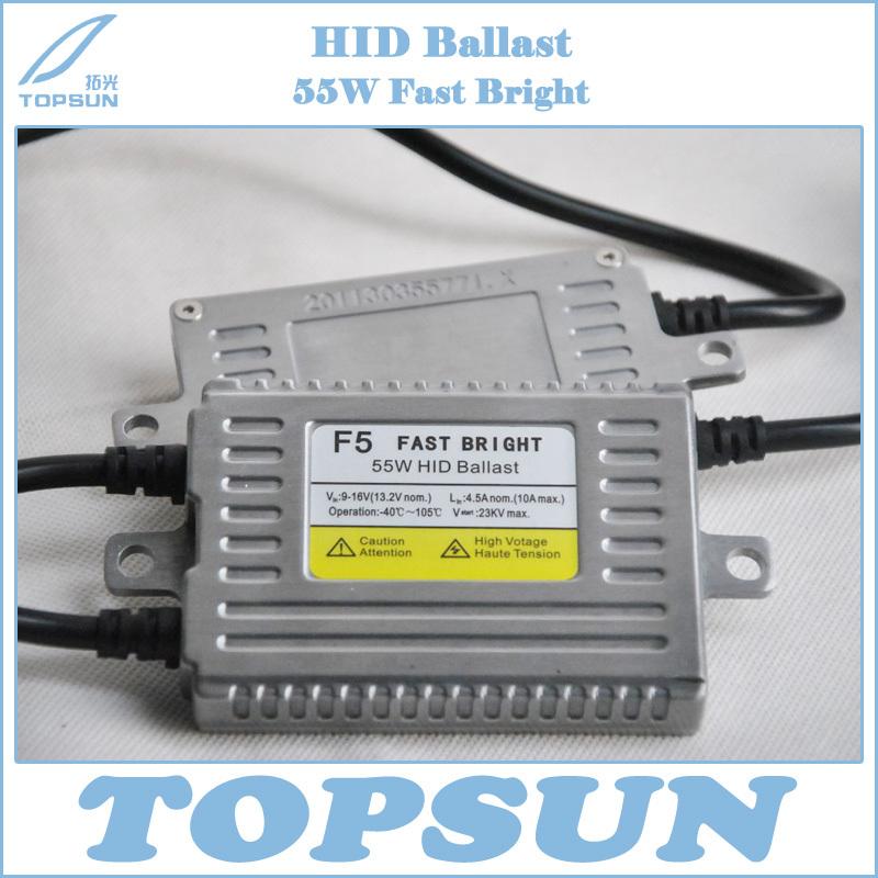 F5 FAST BRIGHT AC 55W DIGITAL HID XENON BALLAST, BRIGHT IN ONE SECOND