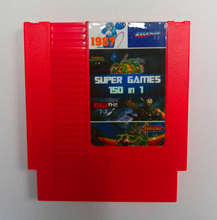 Top quality 72pins 8 bit Game Cartridge 150 in 1 with game Rockman 1 2 3 4 5 6 NINJA TURTLES Contra Kirby's Adventure