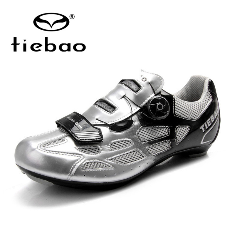 Tiebao Bicycle Shoes Road Racing Athletic Shoes MTB Cycling Adjustable Buckle Road Cycling Road Bicycle Shoes TB16-B1259<br><br>Aliexpress