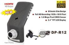 Original Ambarella 5MP 30fps 1920*1080P Luxury Car Camera Full HD Video Recorder DVR Recorde +Russian External GPS Car DVR