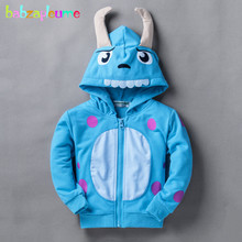 Hot Sale 1-8ages Sport casual infant-sweatshirt pijama urso cartoon printed hoodie boys girls outwear moleton infantil BC1020(China (Mainland))
