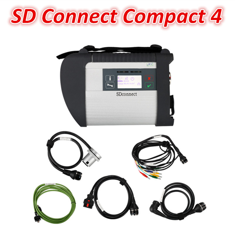 Cheap MB SD Connect Compact 4 MB star SD C4 with WiFi support Multi-languages(China (Mainland))