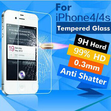 Protective Glass For Iphone 4s Premium Glass For iPhone4s Tempered Glass For 4s Screen Protector for iPhone 4s protective film