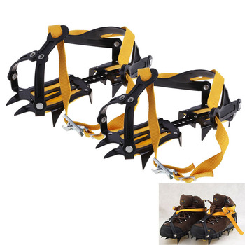 Quality High Altitude Slip-resistant Strong ice crampons Ski Snow Crampons Shoes snow walker for Climbing Walking Hiking US#V