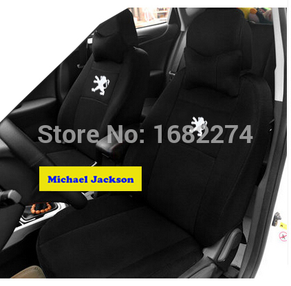 Univeraal car seat cover peugeot 307 206 308 407 207 406 408 301 3008 car accessories car sticker(China (Mainland))